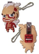 Attack On Titan - Titan Sd Pvc Nail Clipper Keychain Pre-Order