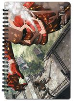 Attack On Titan - Titan Spiral Notebook Pre-Order