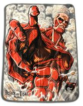 Attack On Titan - Titan Sublimation Throw Blanket Pre-Order