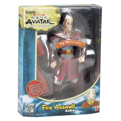 Fire Assault Zuko