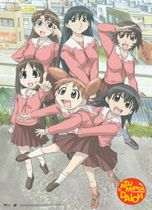 Azumanga Daioh Group Wall Scroll RETIRED