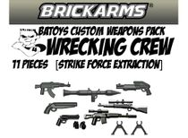 B.A. Toys Wrecking Crew [Strike Force Extraction] BrickArms 11 Piece Weapons Pack