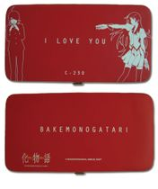 Bakemonogatari - I Love Hinge Wallet RETIRED