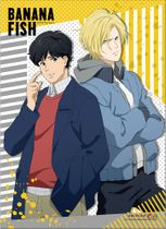 Banana Fish - Ash & Eiji B Wall Scroll Pre-Order