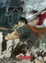 Berserk - Battle Scene Wallscroll Back Order