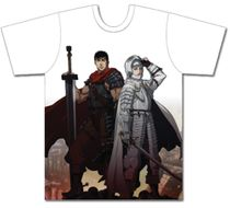 Berserk - Guts And Griffith Mens Sublimation T-Shirt M Back Order