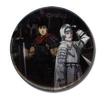"Berserk Guts& Griffith 3"" Button Pre-Order"