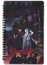 Berserk Key Visual Notebook Pre-Order