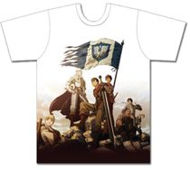 Berserk - Team Hawk Men's Sublimation T-Shirt XXL Back Order