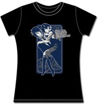 Black Butler 2 Ciel Carried In Sebastain's Arms Jrs T-Shirt XXL Back Order