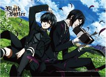 Black Butler 2 - Ciel & Sebastian High-End Wall Scroll Pre-Order