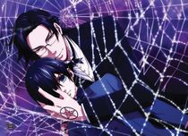 Black Butler 2 - Claude And Ciel Wallscroll Pre-Order