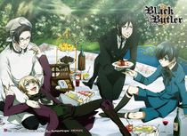 Black Butler 2 - Group 1 Special Edition Wall Scroll Pre-Order