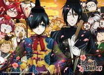 Black Butler 2 - Group 2 Special Edition Wall Scroll Pre-Order