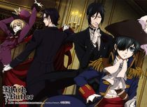 Black Butler 2 - Group 4 High-End Wall Scroll Pre-Order