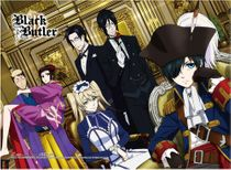 Black Butler 2 - Group High-End Wall Scroll Pre-Order