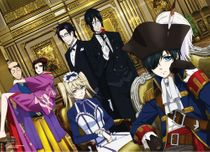 Black Butler 2 - Pirate Ciel And Group Wallscroll Pre-Order