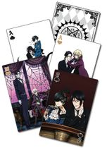 Black Butler 2 -Playing Cards Pre-Order