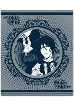 Black Butler 2 Sebastain & Ciel Throw Blanket RETIRED