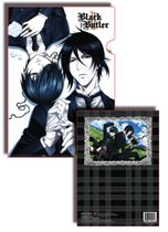 Black Butler 2 Sebastian And Ciel File Folder Pre-Order