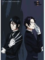 Black Butler 2 - Sebastian And Claude Wall Scroll Pre-Order