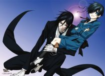 Black Butler 2 - Sebastian & Ciel Ready Wall Scroll Pre-Order