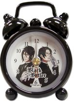 Black Butler 2 Sebastian Vs Claude Mini Desk Clock Pre-Order