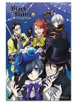 Black Butler B.O.C. - Circus Group Paper Poster Pre-Order
