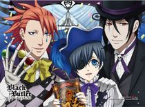 Black Butler B.O.C. - Group 2 High-End Wall Scroll Pre-Order