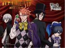 Black Butler B.O.C. - Group 3 High-End Wall Scroll Pre-Order