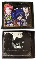 Black Butler B.O.C - Group With Colored Ribbon Wallet Pre-Order