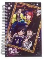 Black Butler Boc - Group & Frame Hardcover Notebook Pre-Order
