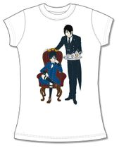 Black Butler Book Of Circus- Sebastian Ciel Jrs Screen Print T-Shirt L Pre-Order
