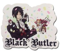 Black Butler - Celebrate Group Sticker Pre-Order