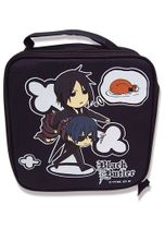 Black Butler Charcters Lunch Bag Pre-Order