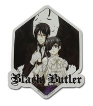 Black Butler - Ciel & Demon Sebastian Sticker Pre-Order