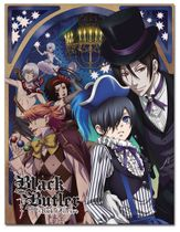 Black Butler - Ciel & Sebastian Circus Sublimation Throw Blanket Pre-Order