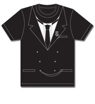 Black Butler - Faux Sebastian Tux Men's T-Shirt XL Back Order