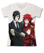 Black Butler - Grell And Sebastian Sensei Full Jr's T-Shirt M Pre-Order