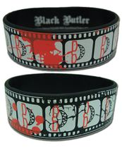 Black Butler Grell Cinematic Record Wristband Pre-Order