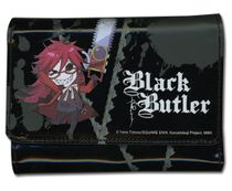 Black Butler Grell Girl Wallet RETIRED