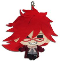 Black Butler - Grell Plush Coin Purse 7'' Pre-Order