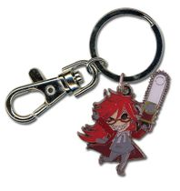Black Butler Grell Sd Metal Keychain RETIRED