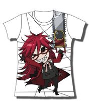 Black Butler Grell With Chainsaw Jrs T-Shirt M Pre-Order