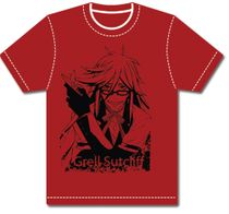 Black Butler Grell With Scissors T-Shirt S Back Order