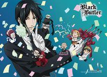 Black Butler - Group 1 High-End Wall Scroll Pre-Order