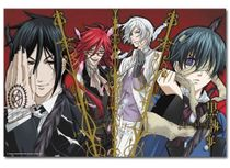 Black Butler Group 1000Pcs Puzzle Pre-Order