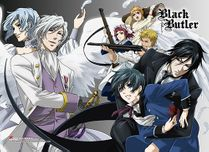 Black Butler - Group 2 High-End Wall Scroll Pre-Order