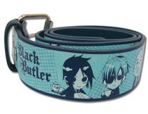 Black Butler - Group Green Pu Belt S Pre-Order