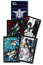 Black Butler - Group Playing Cards IN STOCK